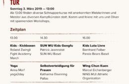Wir gratulieren Oliver Hasler und seiner Sun Wu Zürich zum Jubiläum